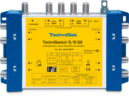 TechniSat TechniSwitch 5/8 G2